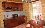 Обустраиваем кухню в деревянном доме — дизайн и интерьер