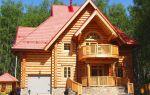 Красота деревянного коттеджа