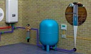 Водопровод в частном доме – делаем своими руками от скважины