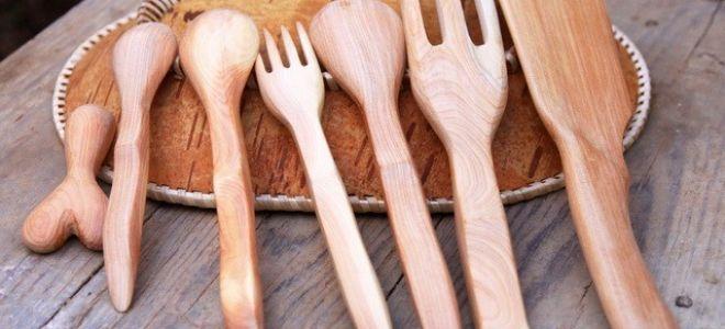 Уход за деревянной кухонной утварью