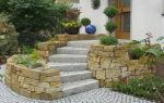 Бордюрный камень как элемент дизайна участка