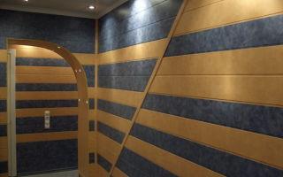 Интересная обшивка стен МДФ панелями – варианты дизайна