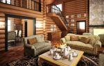 Дизайн деревянного дома – фотогалерея интерьеров