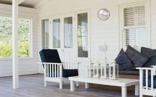 Мебель для веранды – от классики до модерна
