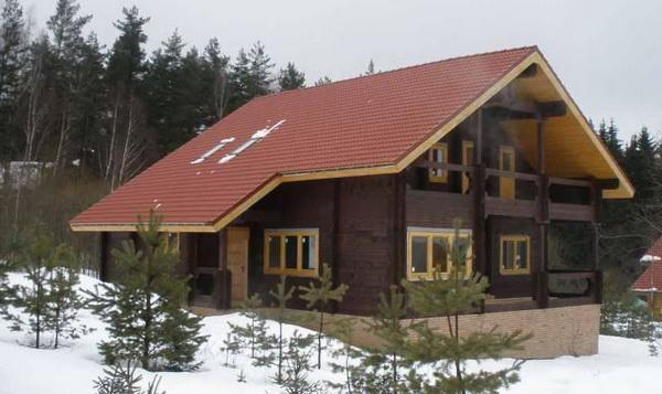 крыши частных домов фото 4