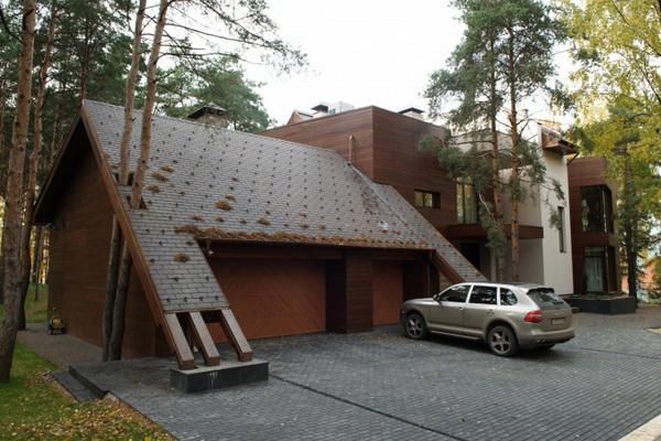 крыши частных домов фото 7