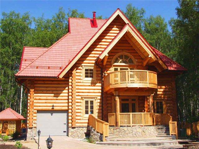 Современный деревянный дом - это не избушка, а самый настоящий боярский терем