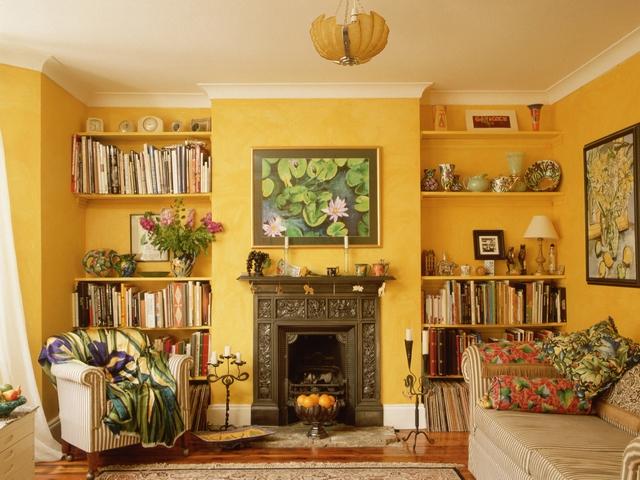 Хорошо подобранный стиль делает интерьер дома уютным и теплым