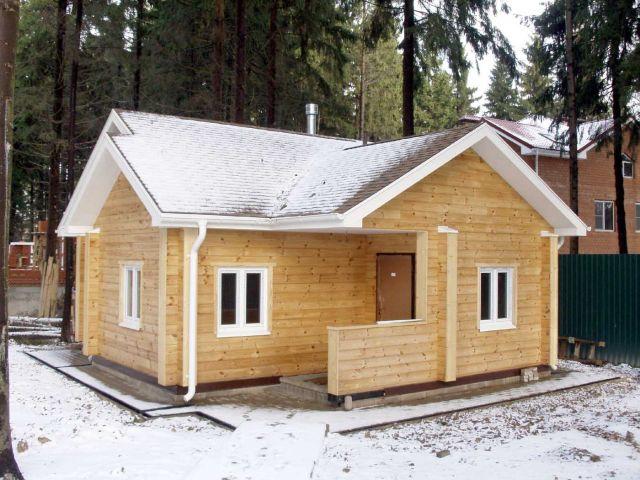 Перед постройкой бани стоит задуматься над тем, каким будет ее фасад.