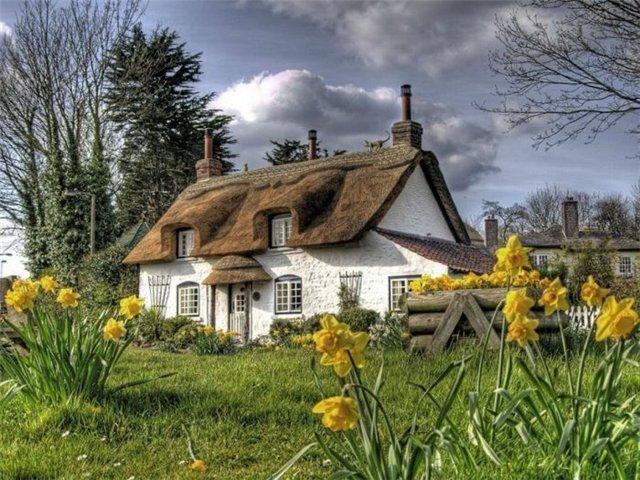 Необычная крыша А