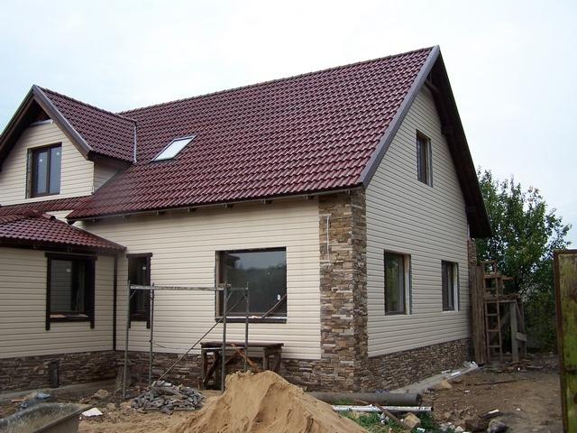 Сайдинг для фасада дома 4