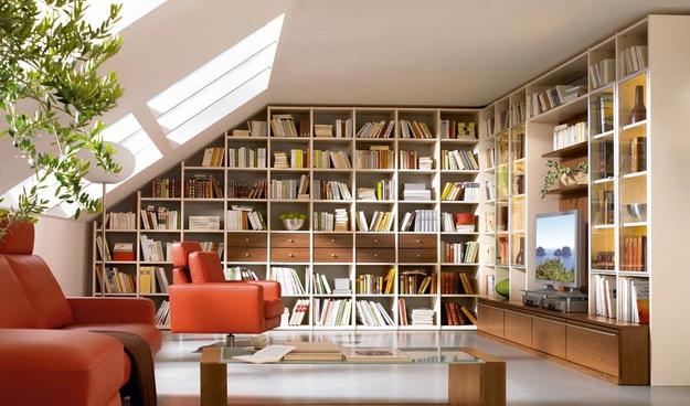 Домашняя библиотека фото А