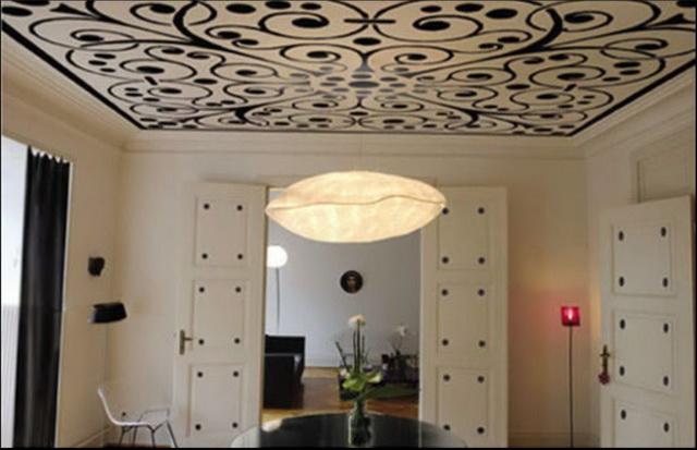 Красивый потолок 4