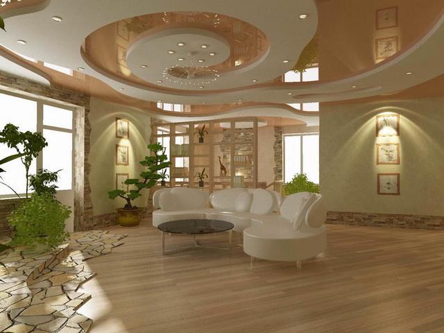 Красивый потолок 6