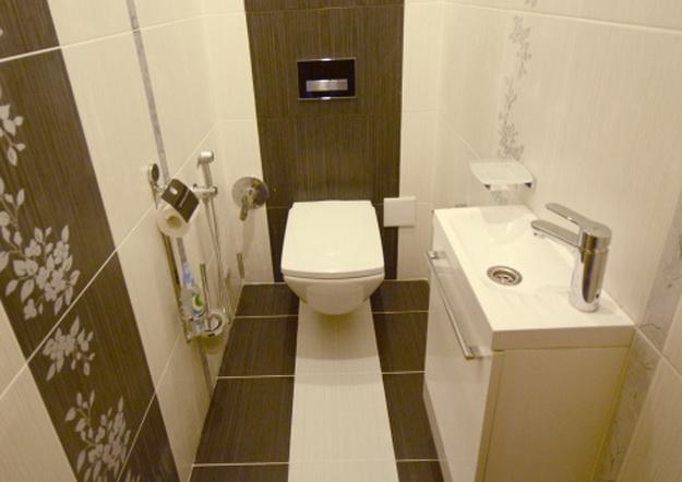 Дизайн раздельного туалета 1
