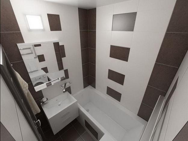Дизайн раздельной ванной