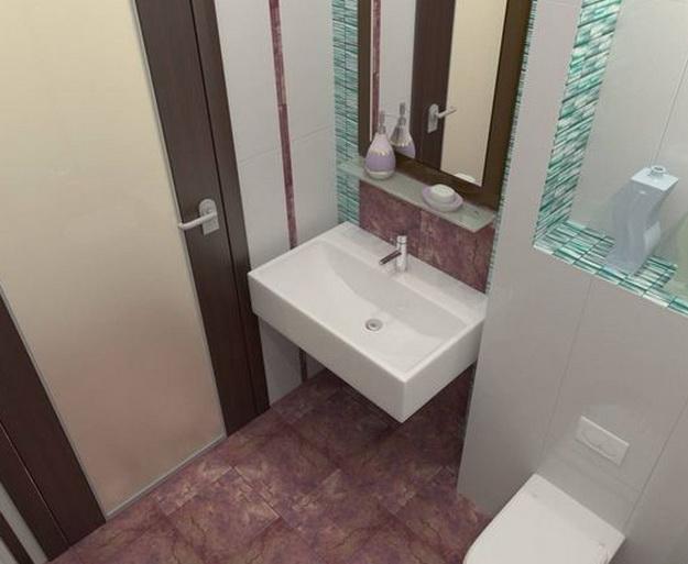 Дизайн санузла 3 4 5 6 кв м фото А