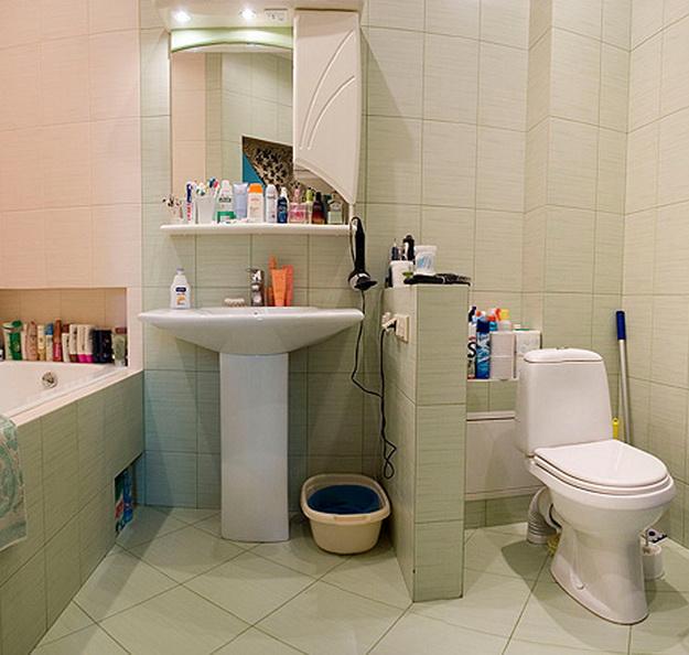 Дизайн туалета в панельном доме 1