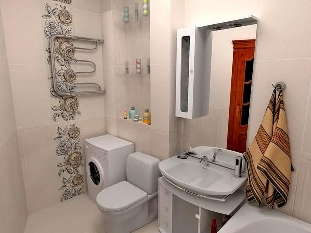 Дизайн туалета в панельном доме 2