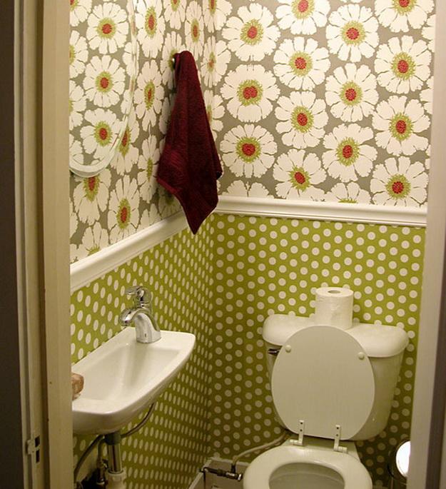 Интерьер маленького туалета фото 3