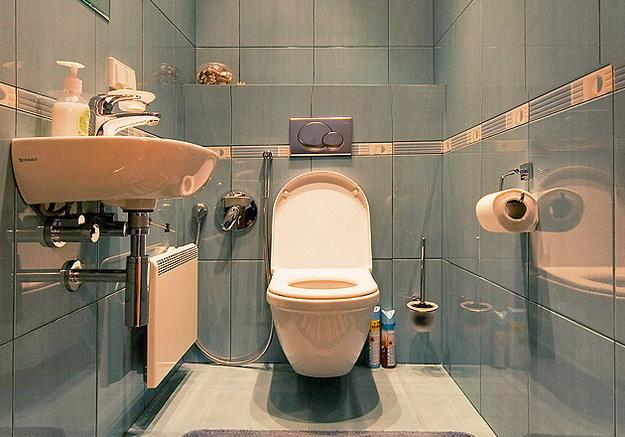 Туалет в панельном доме 1