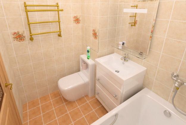 Ванная комната в хрущевке 2