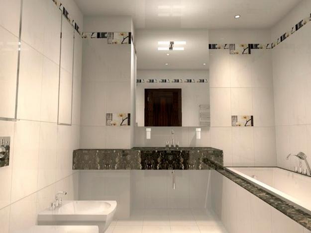 Дизайн туалета в кирпичном доме 4