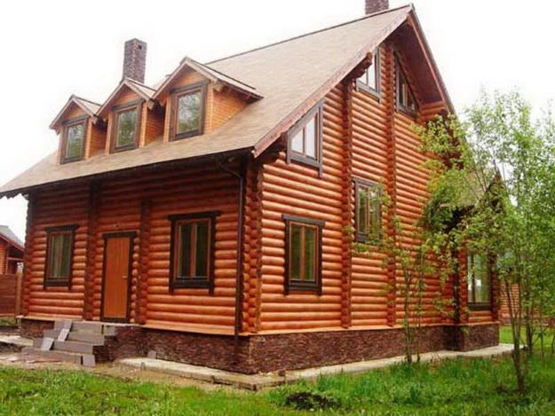 Дома из оцилиндрованного бревна фото 10