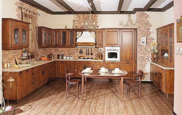 Идет ли современной кухне классический дизайн 3