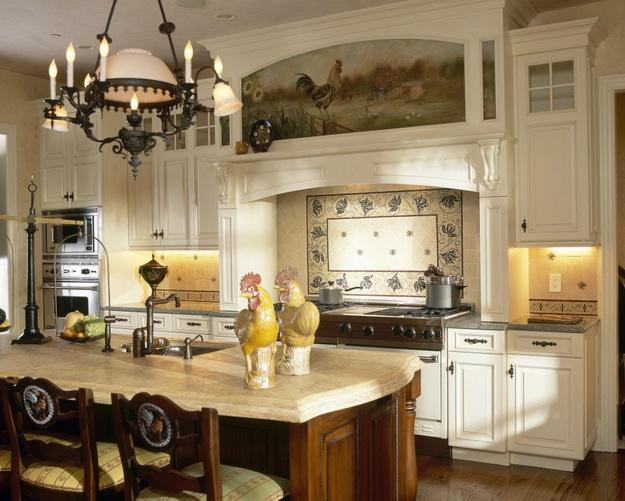 Кантри-кухня в частном доме и в городской квартире 1