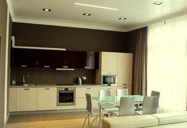 Дизайн проект – кухня гостиная 20 кв. м. 2