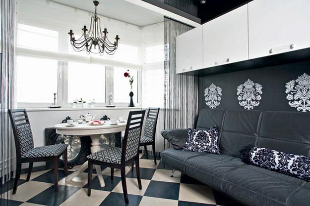 Дизайн проект – кухня гостиная 20 кв. м. 4