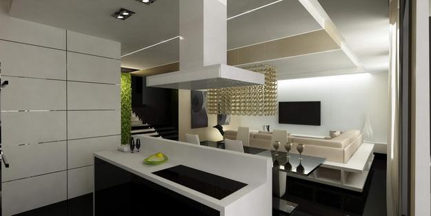 Дизайн проект – кухня гостиная 20 кв. м. 5