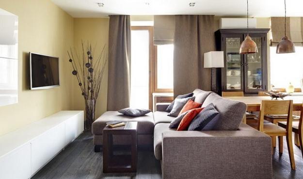 Дизайн проект – кухня гостиная 20 кв. м. 6