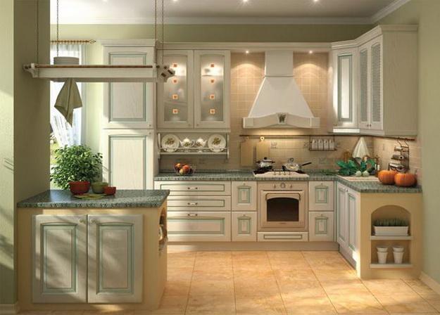 Современная кухня – дизайн в классическом стиле 1