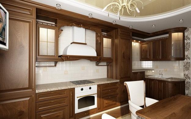Современная кухня – дизайн в классическом стиле 3