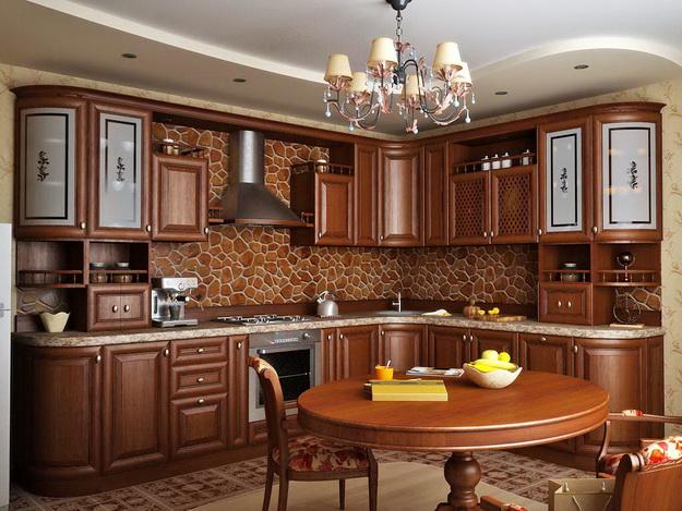 Современная кухня – дизайн в классическом стиле 4