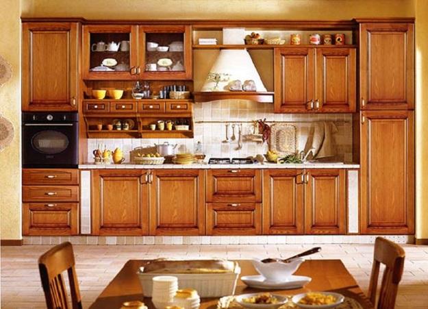Современная кухня – дизайн в классическом стиле 5