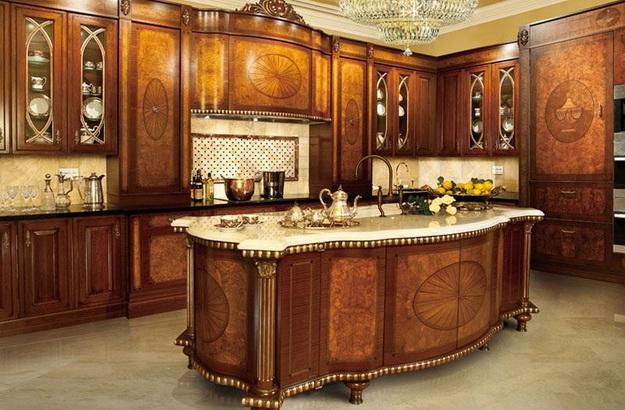 Современная кухня – дизайн в классическом стиле 6