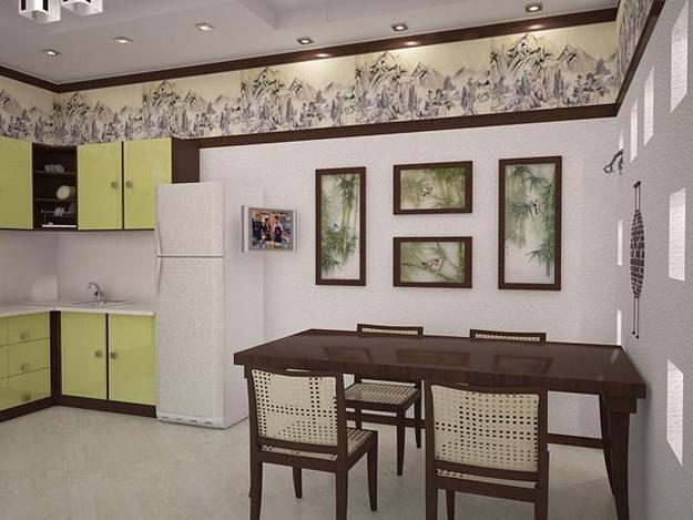 Находки дизайна – кухня и столовая в одном помещении 1