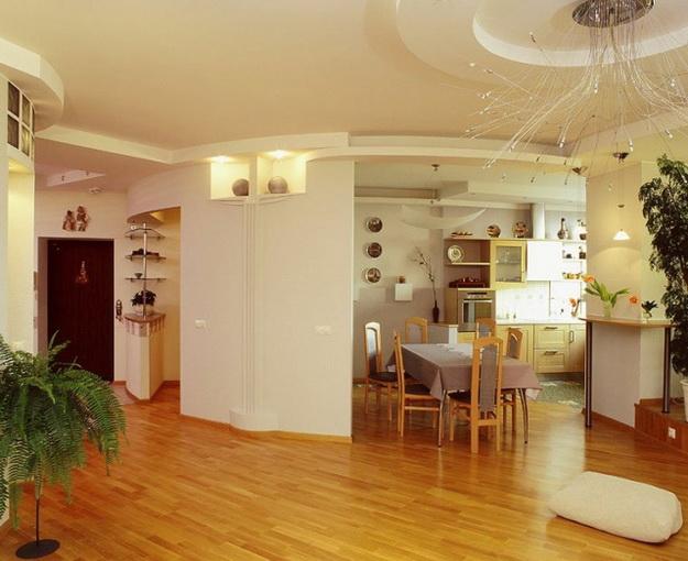 Находки дизайна – кухня и столовая в одном помещении 2