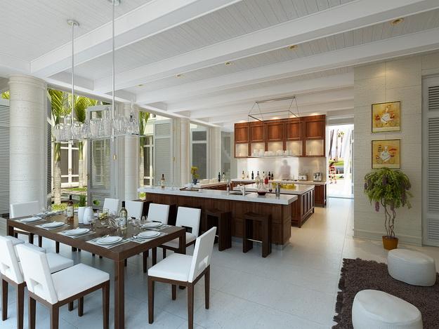 Находки дизайна – кухня и столовая в одном помещении 3