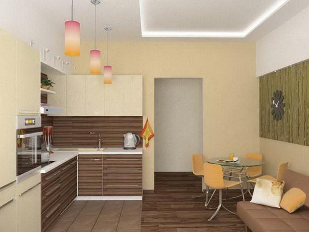 Современный дизайн кухни студии - кто во что горазд 2