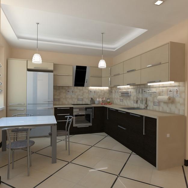 Современный дизайн кухни студии - кто во что горазд 3