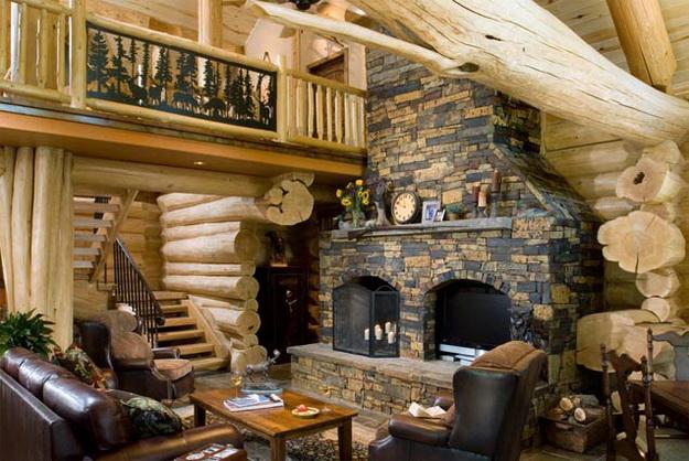Дизайн деревянного дома – фотогалерея интерьеров 4