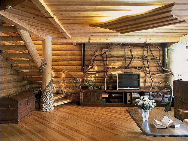 Дизайн деревянного дома – фотогалерея интерьеров 7