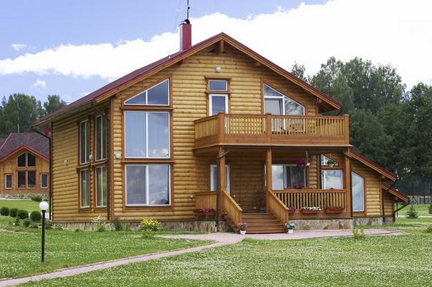 Крыльцо деревянного дома - фотогалерея разных вариантов 8