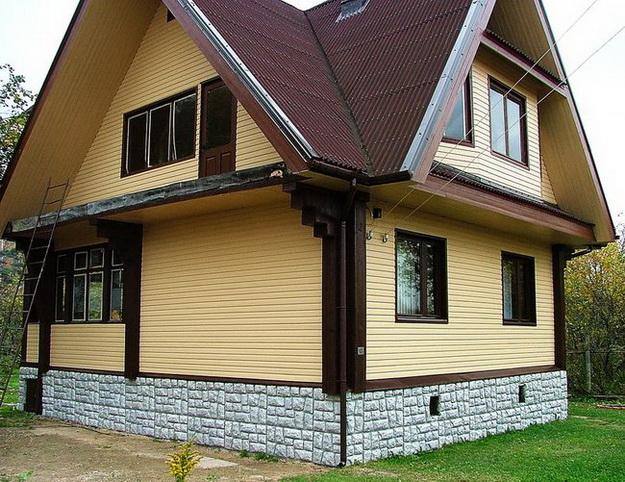 Чем облицевать деревянный дом снаружи 2