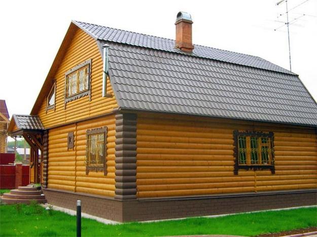 Чем облицевать деревянный дом снаружи 3