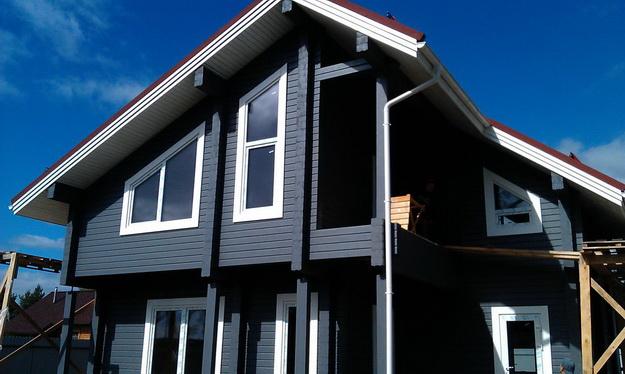 Чем красить деревянный дом снаружи - лучшая фасадная краска для деревянного дома 2